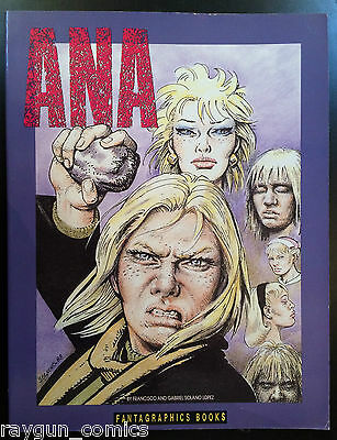 Ana by Francisco and Gabriel Solano Lopez Softcover Graphic Novel Fantagraphics