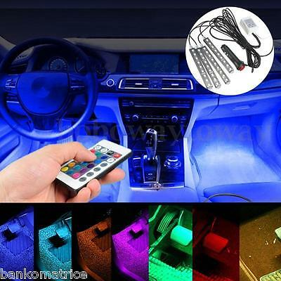 4x9 LED 15 COULEURS INTERIEUR TUNING 2016 • ALLUME CIGARE 12V • AIXAM
