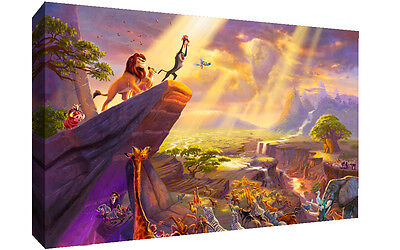 Disney Lion King Movie CANVAS WALL ART Picture Print, A1, A2 all sizes