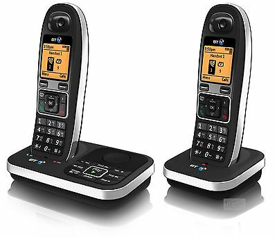 BT 7610 Twin Digital Cordless Telephone with Speaker Phone and Answering Machine