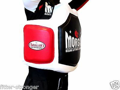 New Morgan Professional Jumbo Belly Pad Boxing Body Shield Mma Guard Cg-3
