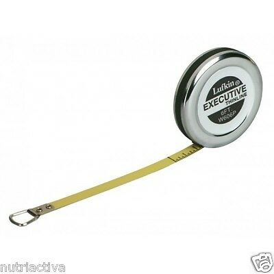 LUFKIN W606PM Diameter Tape Measure for Circumference Pi Pipes Trees Metric 2M