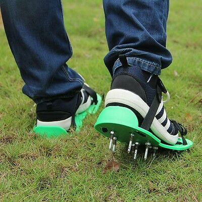 Garden Lawn Aerator Spike Spiked Shoes For Garden Lawn Care  Tillage Floor Tool