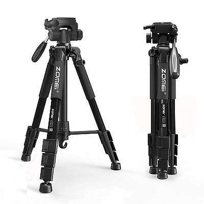 Professional Tripod Fluid Head Travel for SONY Canon Digital Camera Camcorder