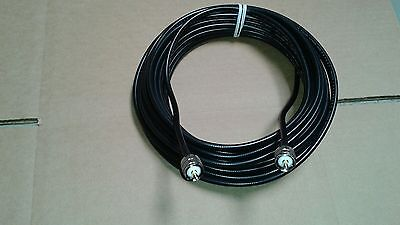 US MADE Times Microwave Cable  LMR-240  PL259  Male to PL259  Male 100 FT
