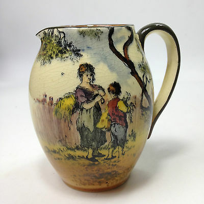 "Vintage ROYAL DOULTON "" The Gleaners "" JUG"