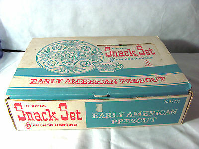 Early American Prescut Star of David 8 Piece Snack Set-EAP 4 Plates and 4 Cups