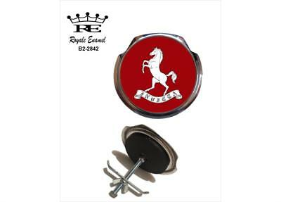 Royale Classic Car Grill Badge + Fittings - COUNTY OF KENT INVICTA - B2.2842