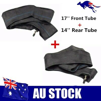 "70/100 - 17 inch front tyre inner tube + 80/100 -14"" rear inner tube dirt bike"