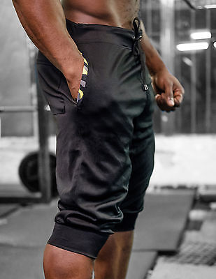 Men's Sport Gym Camo Jogging Casual Shorts Pants Trousers Run Athletic Apparel