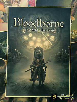 Bloodborne Maria Home Decor Poster Wall Mural Paintings 29.7*42cm