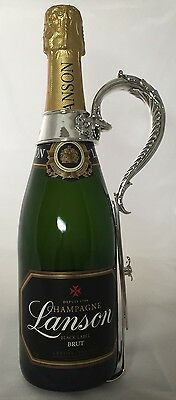 Ultra Rare Tiffany & Co New York Solid Sterling Silver Champagne Pourer C19th