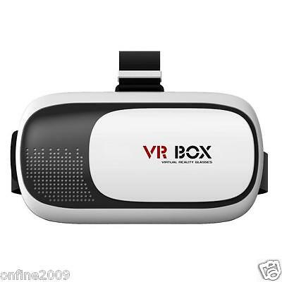 VR BOX 2.0 Google Cardboard VR Virtual Reality 3D Glasses for 3.5 to 6.0'' Phone