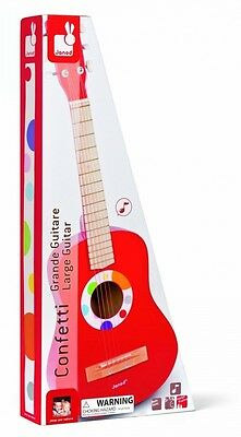 Big red guitar Graffiti. Shipping Included