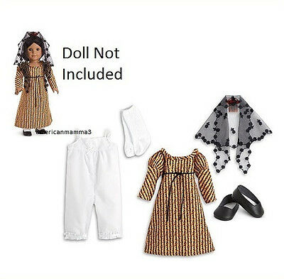"American Girl JOSEFINA HOLIDAY CHRISTMAS DRESS OUTFIT for 18"" Dolls Veil NEW"