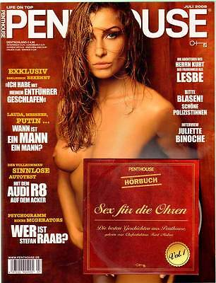 PENTHOUSE 2008/07 [Juli 7/08] mit CD  * Clara Nagy * TOP