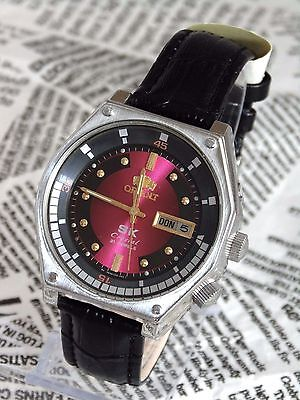 ORIGINAL ORIENT SK VINTAGE MENS AUTOMATIC watch Made in Japan Day & Date