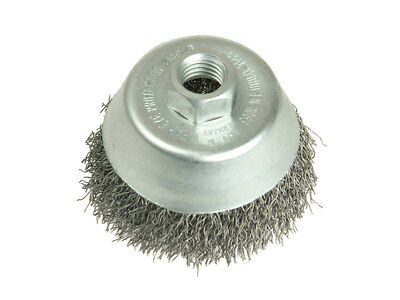 Lessmann LES421163 Cup Brush 60mm M10 x 0.35 Steel Wire