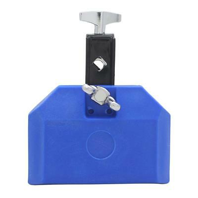 Blue Plastic Cow Bell Great Latin Percussion Instrument High Pitched Sound