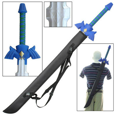 Legend of Zelda Skyward Foam Gaming Sword FREE Nylon Sheath Video Game Combo
