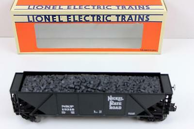 Lionel O Nickle Plate Road 4 bay hopper with load 3 rail new C9