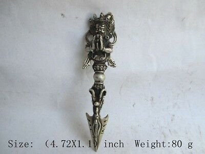 Old sword weapon Buddhism Taoism China unique copper the ancients multiplier.