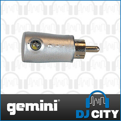 Gemini Replacement Target Light for Vinyl Turntable RCA Style Connection