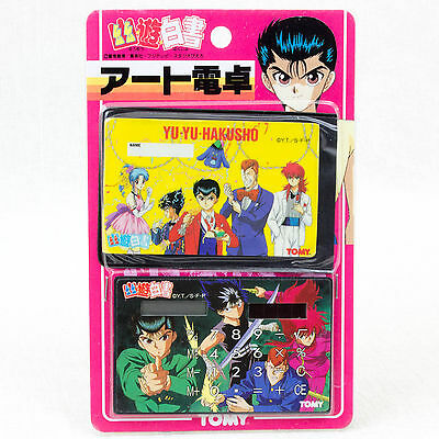 Yu-Yu Hakusho Solar power Calculator Hiei Kurama Yusuke Kuwabara JAPAN ANIME