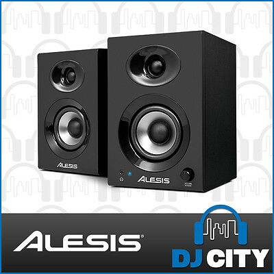 Elevate3 Alesis 3-Inch Active Studio Monitor Pair for Recording & Production