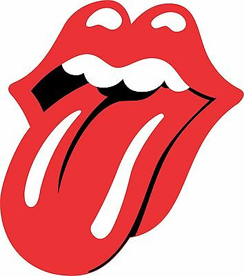 Rolling Stones Tongue - Vinyl Sticker Decal - Full Color CAD Cut Car