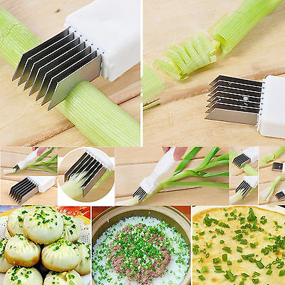 Portable Stainless Steel Outdoors Picnic Shredded Scallion Knife Mom Kitchen kit