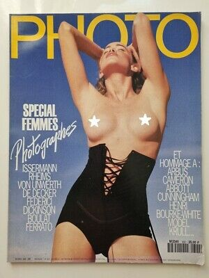 PHOTO FRENCH MAGAZINE #302 juin 1993 special femmes photographes