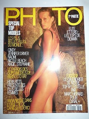 PHOTO FRENCH MAGAZINE #306 novembre 1993 top models Jennifer Driver Estelle
