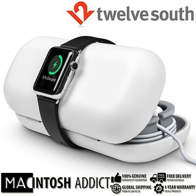 Twelve South TimePorter Travel Accessory Case + Stand For Apple Watch WHITE