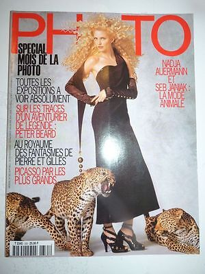 PHOTO FRENCH MAGAZINE #335 novembre 1996 Nadja Auermann et Seb Janiak