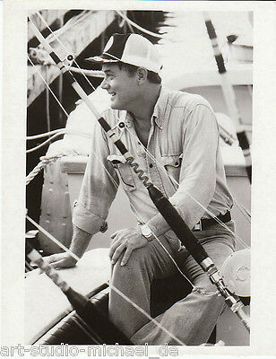 "ORIGINAL Foto - Larry Hagman - Premiere von ""The American Sportsman"" 1981"