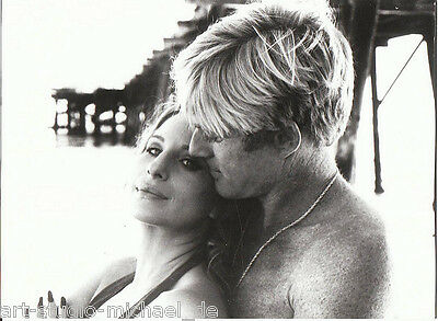"ORIGINAL Foto - Robert Redford - Barbara Streisand - ""So wie wir waren"""
