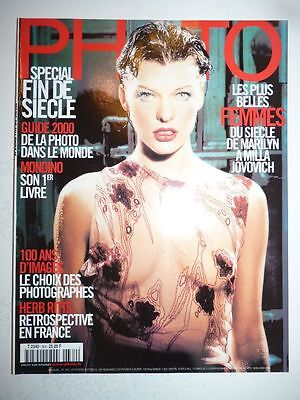 PHOTO FRENCH MAGAZINE #364 novembre 1999 les plus belles femmes du siecle