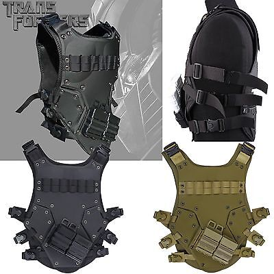 Tactical TF3 Vest TMC Cosplay Airsoft CS Protective Hunting Game Adjustable Size