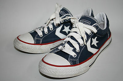 Converse Unisex Sneakers Navy blue Kids Fashion Designer Flat Sport 2 UK 34 EU
