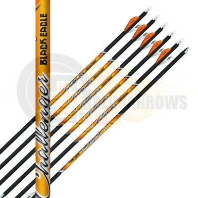 Black Eagle Arrows Challenger Carbon Shaft Target 3D Archery Arrow