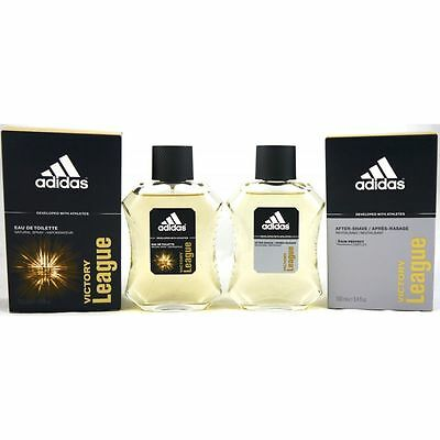 Adidas Victory League 100 ml Eau de Toilette EDT & 100 ml Aftershave Set