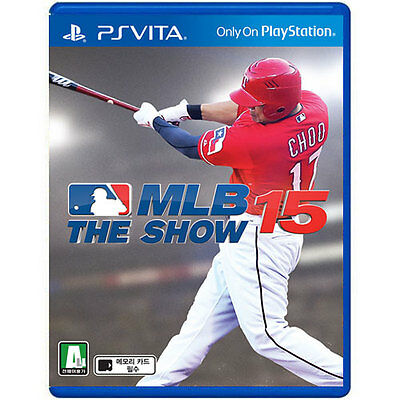 MLB 15 The Show (2015, Korea Version) PS Vita English USED!!