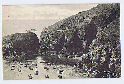 SARK Les Laches, Postally Used Postcard 1919