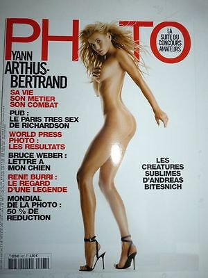 PHOTO FRENCH MAGAZINE #407 mars 2004 les creatures sublimes d'Andreas Bitesnich