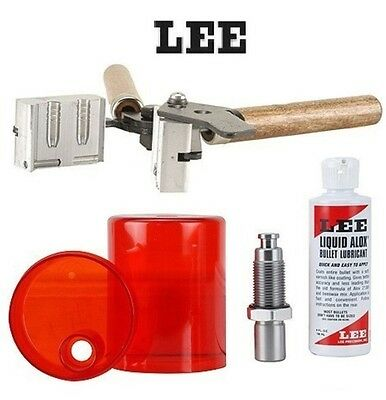 LEE COMBO * .22 Cal Double Cavity Mold 90451 & Sizing and Lube Kit 90036 * New!