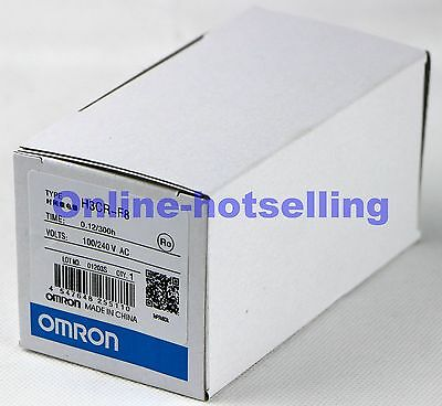NEW OMRON PLC Twin Timer H3CR-F8 100-240VAC #OH01
