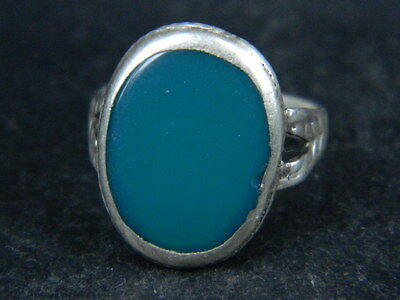 Antique Silver ring With Stone 1900 AD    ##AZ16##