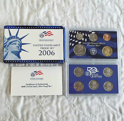 USA 2006 s 10 COIN DOUBLE PACK PROOF YEAR SET - complete