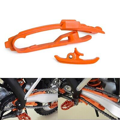 Orange Chain Slider Guard Protection Pads For KTM 250/350/450 SX-F 2011-2016 NEW